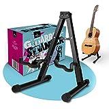 cool-play – Premium Gitarrenständer – Zusammenklappbare Gitarren Halterung [1kg] – Stabiles...