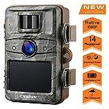 Campark Wildkamera 14MP 1080P No Glow Night Vision berwachungskamera Jagdkamera Sicherheit...