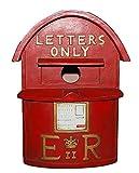 Vivid Arts Vogelhaus, Britischer Briefkasten, rot
