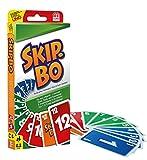 Mattel Games 52370 Skip-Bo Kartenspiel und Familienspiel geeignet für 2 - 6 Spieler, Spiel ab 7...