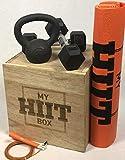 My HIIT Box The Home Workout Fitness-Lösung Plyometrie-Box Sprungwürfel mit Schiebedeckel kommt...