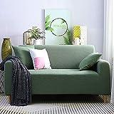 WYSTLDR Elastische Sofabezug aus Maiskornvlies, einfarbiges All-Inclusive-Universalsofakissen,...