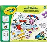 CRAYOLA 256278 Sticker-Spaß, bunt