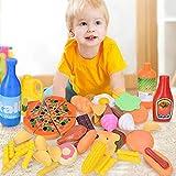 38 Stck Kchenspielzeug Set Schneiden von Obstgemse kche spielset Essen Kche Rollenspiel Kinder...