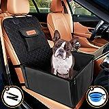 Looxmeer Hunde Autositz für Kleine Mittlere Hunde Vordersitz & Rückbank, Hundesitz Auto mit...