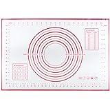 QTTO Backmatte, Silikon Backmatte, Silikonmatte Baking Mat rutschfeste, Backmatte Silikon BPA Frei,...