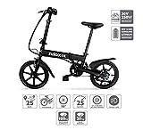 Nilox X2 E-bike, Elektrofahrrad, Herren & Damen Pedelec, E-Bike, Folding Elektrofahrrad, City...