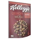 Kellogg's Crunchy Müsli Red Berries | Knuspermüsli mit Beeren-Geschmack | Einzelpackung | 425g,...