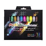 12 Farben wasserdichte Autoreifen-Reifenprofil-Metall-Lack Marker, Bleistifte für Kinder, niedliche...