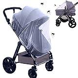 Universal Insektenschutz Moskitonetz für Kinderwagen Schutz, Feinmaschig Mückennetz für...