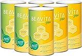 BEAVITA Vitalkost Plus - 6x 572g Ananas Kokos Geschmack - leckerer Diät-Shake für unbeschwertes...