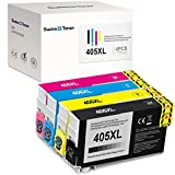 SWISS TONER 405XL Kompatibel für Epson 405XL Tintenpatronen für Epson Workforce Pro WF-3820DWF...