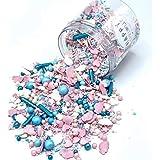 Happy Sprinkles Sweet Heaven| Zuckerstreusel Mix bunt | Zum Backen und Verzieren von Torten, Kuchen,...