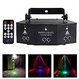 YXB Bühnenbeleuchtungslampe Professional New 9 Eye Strobe Bühnenlicht Superheller LED-Sound...