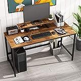 JOISCOPE Computertisch,Laptop-Schreibtisch mit Ablagefach,Holz und Metall,Arbeitstisch für das...