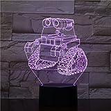 Led Nachtlicht Planetary Rover Dekoration 3d Illusion 7 Farbwechsel Kinder Baby Nachtlicht Geschenke...