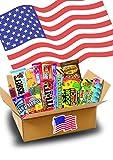 Süßigkeiten Box - USA Sweets - 17 verschiedene Leckereien - Perfekte Geschenkidee - Box voller TOP...