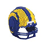 Forever Collectibles UK Los Angeles Rams 3D BRXLZ – Replika Helm