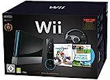 Nintendo Wii 'Mario Kart Pak' - Konsole inkl. Wii Sports, Mario Kart Wii, Wii Lenkrad + Remote Plus...