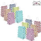 Sunshine smile Geschenktüten für Kinder Kraft Tüten Mitgebsel Tüten papiertüten aus kraftpapier...
