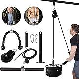 Unterarm Trainer Krafttraining Seilzug DIY Fitness Umlenkrollen Seile Armmuskulatur Trainingsgerät...