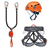 Climbing Technology Kit Ferrata Plus Galaxy, Unisex Erwachsene, Mehrfarbig, Einheitsgröße