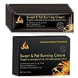 Decaden Männer Abdominal Cream Fettverbrennung,Portable Workout Muskelgewichte Creme,...