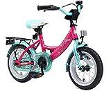 BIKESTAR Kinderfahrrad fr Mdchen ab 3-4 Jahre   12 Zoll Kinderrad Classic   Fahrrad fr Kinder Pink &...