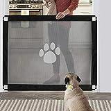 Namsan Hunde Türschutzgitter Einfach zu Installieren & Abschließbar Hundeschutzgitter...