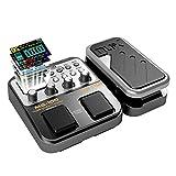 E-Gitarren Multieffekte Asmuse NUX MG 100 Professionel Multi Effekt Pedal Prozessor Looper EFX Amp...