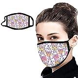 LianMengMVP 1PC Atmungsaktiv Mundschutz Neckwarmer Unisex Outdoor Face Waschbare atmungsaktive...