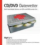 CD/CDV Datenretter, CD-ROMStellt beschädigte Dateien von CDs und DVDs wieder her. Für Windows...