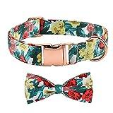 Hundehalsband mit Fliege, VUCDXOP Hunde Halsband mit Schleife Verstellbare Hunde halsbänder...