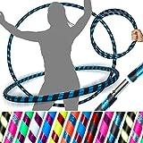 Pro HULA HOOP Reifen für Anfänger und Profis (15 Farben) Faltbarer TRAVEL Hula Hoop ideal für...