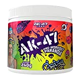 AK-47 Labs AK-47 Pre-Workout Paranoia Booster Trainingsbooster Fitness Bodybuilding 240g (Red Berry...