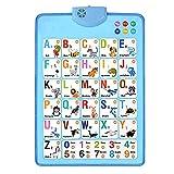 Dreafly Vorschul-Lernspielzeug Flipchart, elektronische interaktive Alphabet-Wandkarte Bestes...