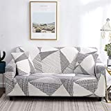 ZMK-720 Sofabezug Stretch Slipcovers Sectional Elastic Stretch-Sofa-Abdeckung for Wohnzimmer Couch...