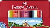 Faber-Castell 115894 - Buntstift hexagonal 60er Metalletui