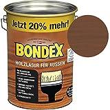 Bondex Holzlasur fr Auen Nussbaum 4,80 l - 329658