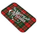 Cloodut Weihnachten Home rutschfeste Tür Fußmatten Hall Teppiche Küche Decor Badematte...