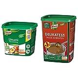 Knorr Umami Würzmischung (feiner, vollmundiger Geschmack) 1er Pack (1 x 1kg) & Delikatess Sauce zu...