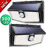300 LED Solarlampen für außen【2020 Neues Design 】, LITOM solarleuchten für außen,...