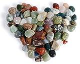 900gr. Trommelsteine, Heilsteine, Dekosteine, Steine, Halbedelsteine ca. 20 -30 mm Aus Brasilien