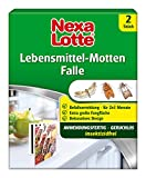Nexa Lotte Lebensmittel-Motten Falle, Mottenbekämpfung, Anwendungsfertige, insektizidfreie Falle...