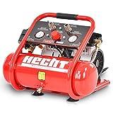 Tragbarer HECHT Flüsterkompressor Druckluftkompressor – 6l Kessel– 105 l/min – 8 bar –...