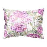 Yowablo Kopfkissenbezug Zierkissenbezug Blütenblatt, Geometrie Drucken Muster für...