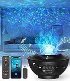 LED-Sternenhimmel Projektor,Rotierendes WasserwellenproJektorlicht,Ferngesteuertes...