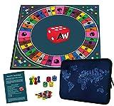 Alleswisser Quiz Brettspiel für Kinder u. Erwachsene ab 7 Jahre   Familienspiel für 2 - 4 Personen...
