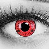 Meralens 1 Paar Farbige Anime Manga Kontaktlinsen Ohne Stärke mit gratis Kontaktlinsenbehälter -...