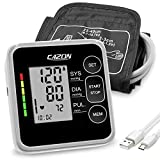 CAZON Blutdruckmessgeräte Oberarm Digital Vollautomatisch Blutdruckmessgerät Pulsmessung...